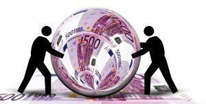 eurojen pyöritys
